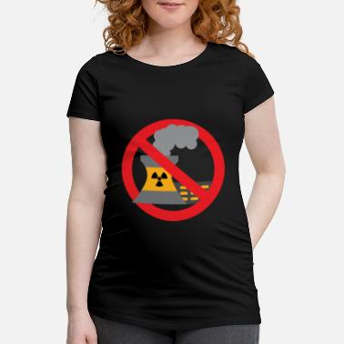 Castor Anti nuclear power gift protest stop Castor - Women's Pregnancy T-Shirt