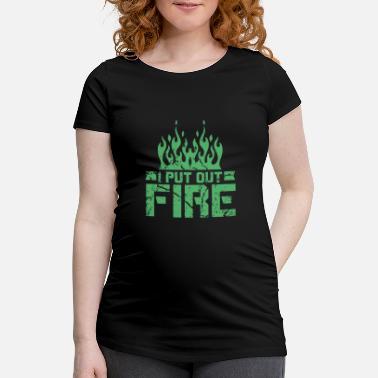Fire Department Fire Department Fire Department Fire Department Fire Department - Maternity T-Shirt