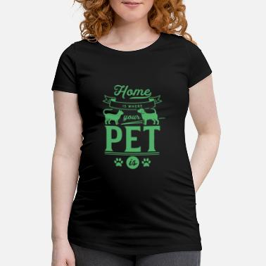 Animal De Compagnie animal de compagnie - T-shirt de grossesse