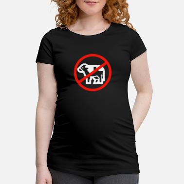 Meat No meat - Maternity T-Shirt