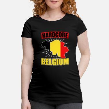 National Belgium nationality national colors - Maternity T-Shirt