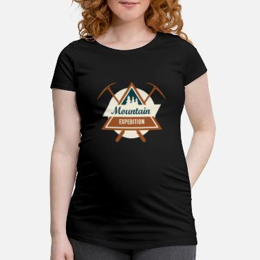 Mountain Sports Mountains mountaineering mountain sports - Maternity T-Shirt