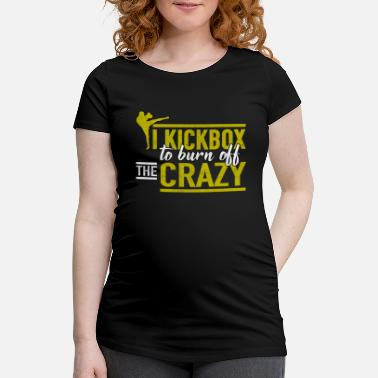 Kick Kick-Boxing Kick-Boxing - T-shirt de grossesse