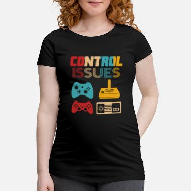Retro Game Characters Retro Gaming - Maternity T-Shirt