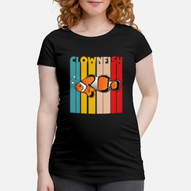 Poison Poisson-poisson-poisson-clown - T-shirt de grossesse