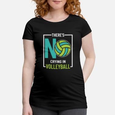 Équipe De Volley-ball Équipe de volley-ball volley-ball - T-shirt de grossesse
