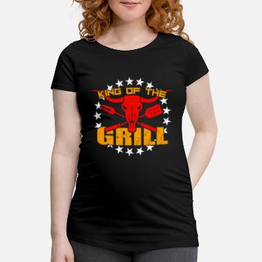 Pince Du Barbecue Barbecue King Grillmeister Barbecue Couverts Pinces À Barbecue - T-shirt de grossesse