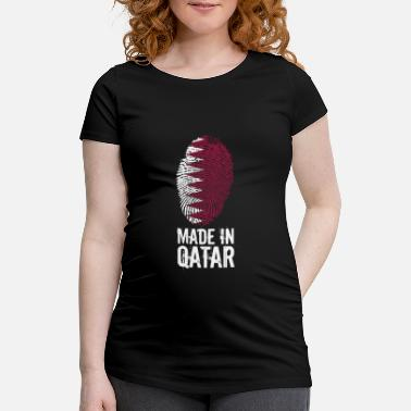 Qatar Made In Qatar / Qatar / قطر - T-shirt de grossesse