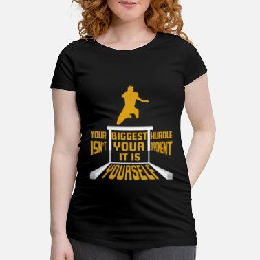 Obstacles Obstacle obstacle cool dire cadeau - T-shirt de grossesse Femme