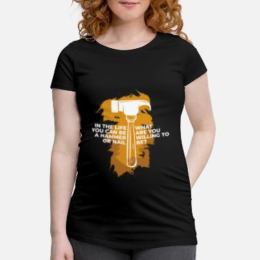 Construction Worker Construction worker construction worker - Maternity T-Shirt