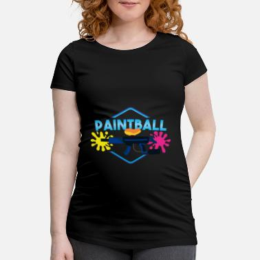 Paintball Paintball - Schwangerschafts-T-Shirt