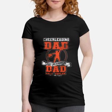 Cheerleader Cheerleading cheerleader sports cheer gift - Camiseta premamá