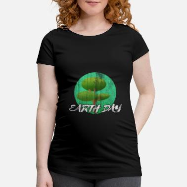 Planet Earthday Earth and Conservation - Maternity T-Shirt