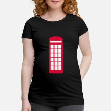 Booth Phone booth - Maternity T-Shirt