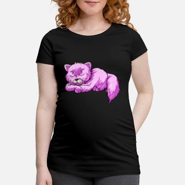 Slipping Slipping cat cat - slip - Women's Pregnancy T-Shirt