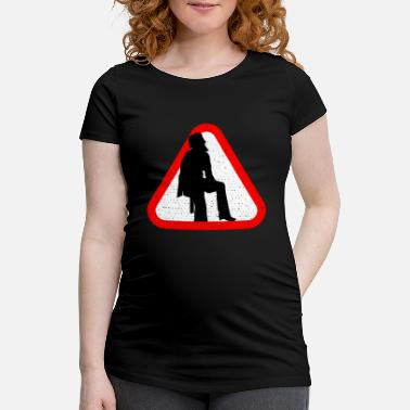 Geographic Attention geographer - Maternity T-Shirt