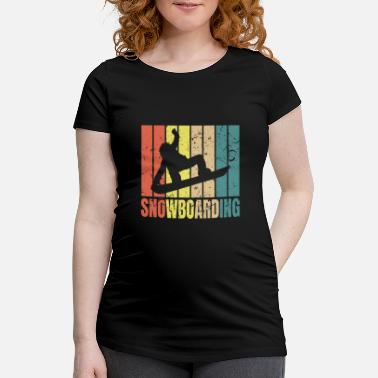 Snowboarding Snowboarding Snowboarding Snowboarding Gave - Vente-T-shirt