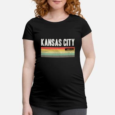 Kcmo Kansas City KCMO Kansas City design Gift - Maternity T-Shirt