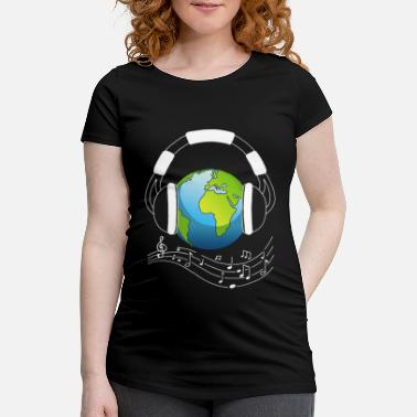 Ecology The music lover - Maternity T-Shirt