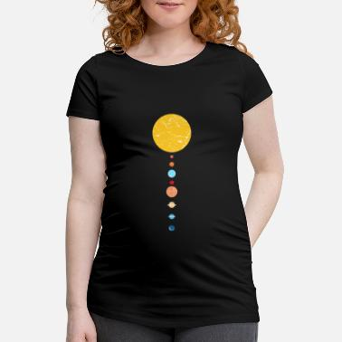 Childrens solar system - Maternity T-Shirt