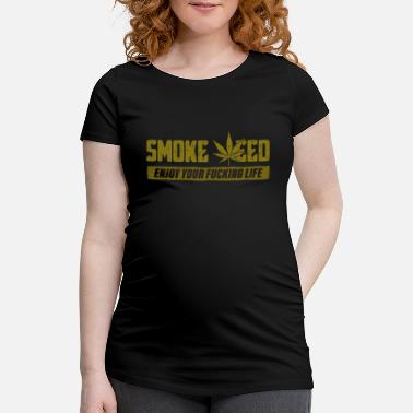 Cannabis Cannabis de cannabis - T-shirt de grossesse