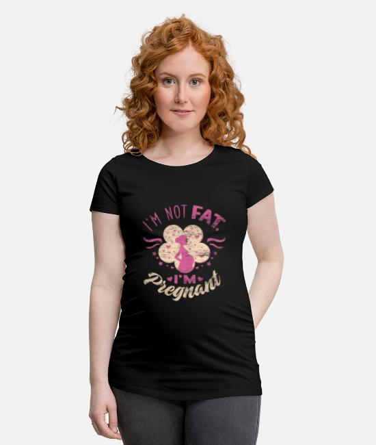 tykk Gravid T skjorte | Spreadshirt