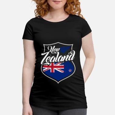 Heimatstadt Country Shirt - New Zealand - T-skjorte for gravide kvinner