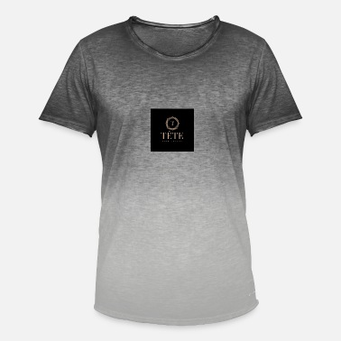 Elegance elegance - Herre T-shirt i colour-block-optik