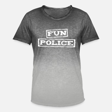 Chaperone Fun Police - Men's T-Shirt with colour gradients