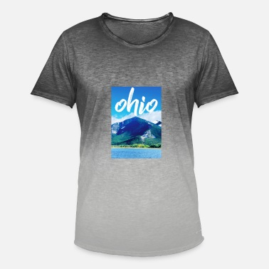 Ohio Ohio - T-shirt dégradé Homme