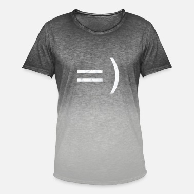 Smileys Smiley - Men's T-Shirt with colour gradients