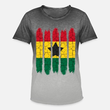 Accra Cadeau national Accra moderne Ghana National Colors - T-shirt dégradé Homme