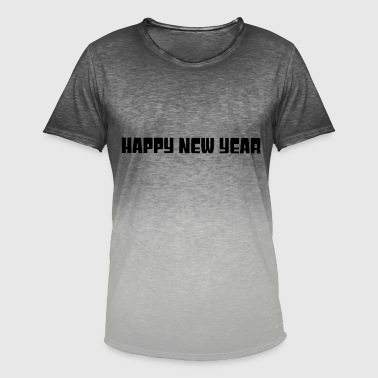 Bonne Année Bonne année bonne année - T-shirt dégradé Homme