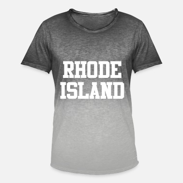 Rhode Island Rhode Island - Men's T-Shirt with colour gradients