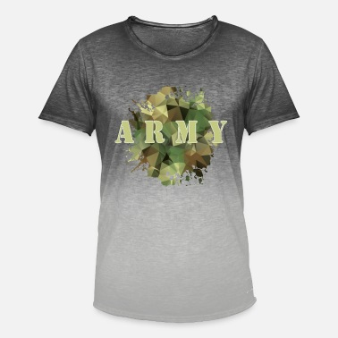 Bundeswehr Army Bundeswehr Warrior Camouflage - Herre T-shirt i colour-block-optik