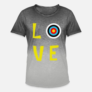 love archery - Men's Colour Gradient T-Shirt