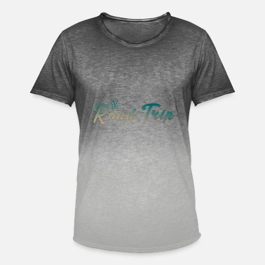 Road Trips Trip Road trip trip - Men's T-Shirt with colour gradients