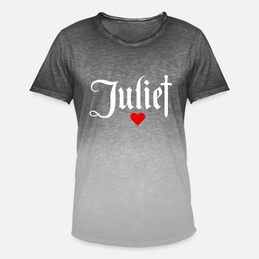 Julie Juliet - T-shirt i colour-block-optik mænd