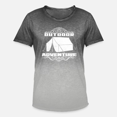 Ekspedition Outdoor Adventure eventyr ekspedition lyse - Herre T-shirt i colour-block-optik