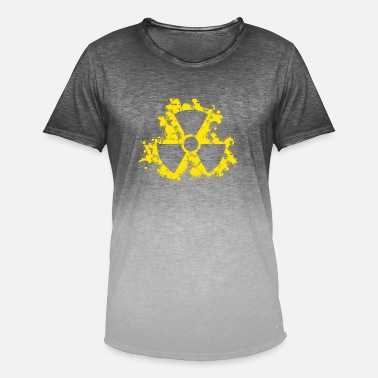 Symbol Nuclear symbol - Men's T-Shirt with colour gradients