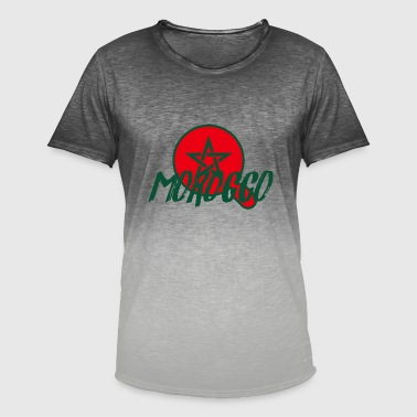 Camiseta marroquí - Camiseta degradada hombre