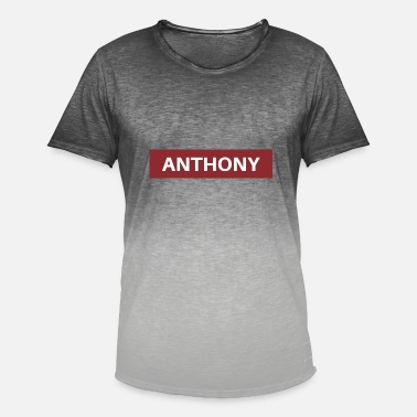 Anthony Anthony - T-shirt med färgtoning herr