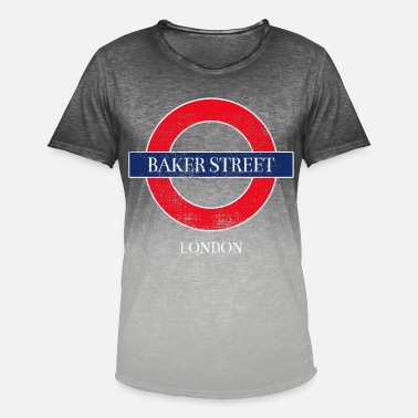 Baker Street Baker Street - Men's T-Shirt with colour gradients