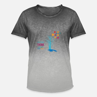 Autist autistic - Men's Colour Gradient T-Shirt
