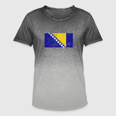 Bosnia - Men's T-Shirt with colour gradients