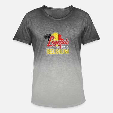 Belgium Belgium - Men's Colour Gradient T-Shirt