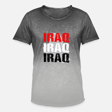 Iraq iraq - Men's Colour Gradient T-Shirt