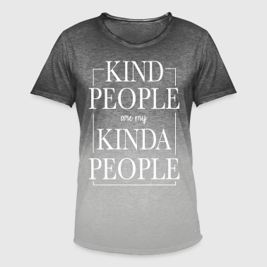 Kindly Kindly nice charity - Men's T-Shirt with colour gradients