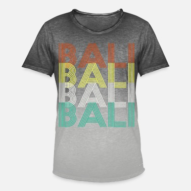Bali Bali Bali Bali Bali - Herre T-shirt i colour-block-optik