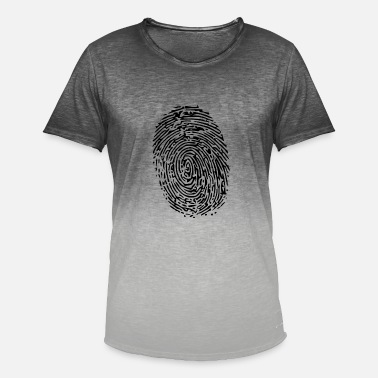 Fingerprint fingerprint - Men's T-Shirt with colour gradients